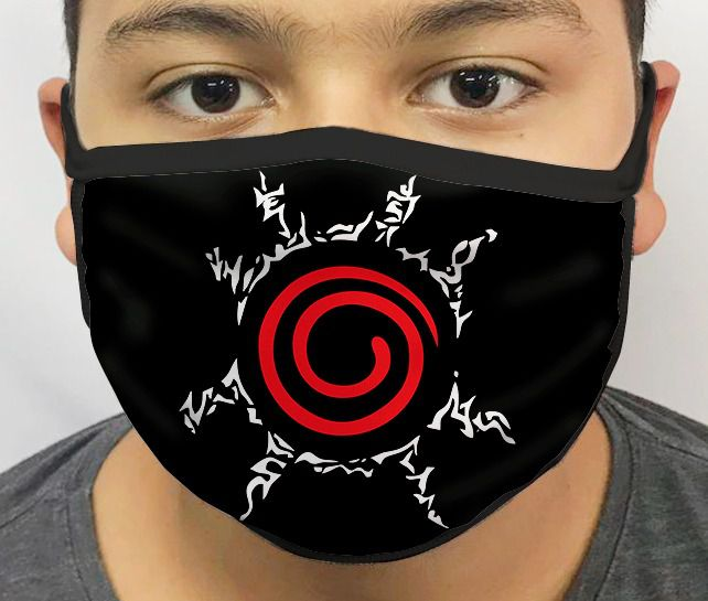 Máscara de Tecido Personalizada Selo Ninja Lavável Reutilizável - EV
