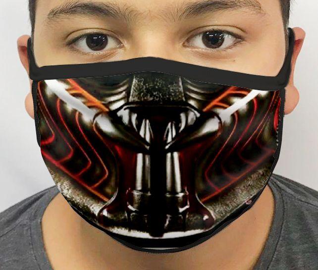 Máscara de Tecido Personalizada Predador Lavável Reutilizável - EV