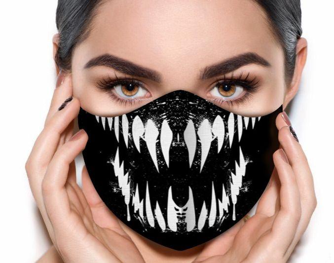 Máscara de Tecido Prime Personalizada Simbionte Reutilizável - EV