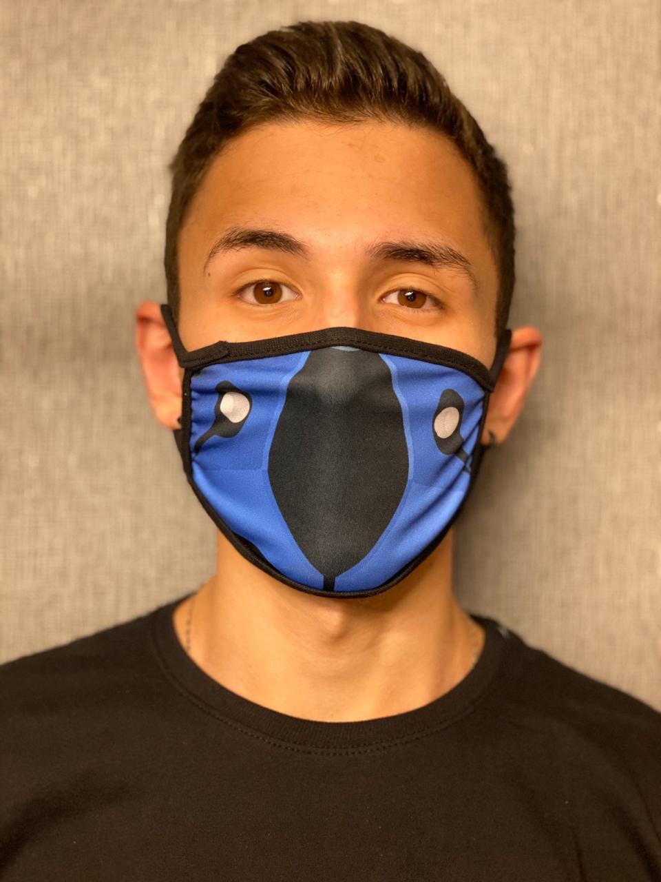 Máscara de Tecido Personalizada Sub-Zero Lavável Reutilizável - EV