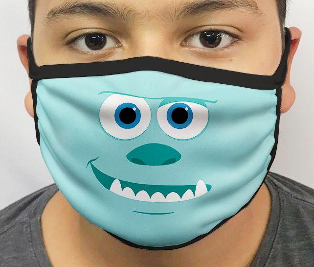 Máscara de Tecido Personalizada Sully Lavável Reutilizável