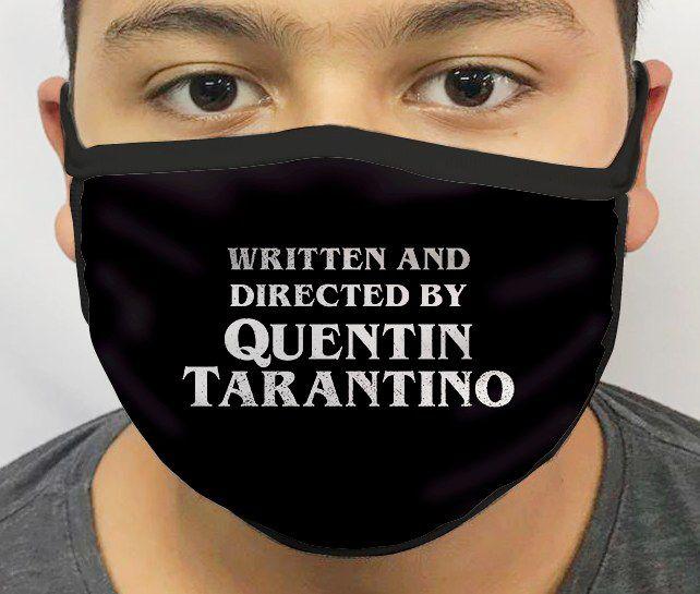 Máscara de Tecido Personalizada Tarantino Reutilizável