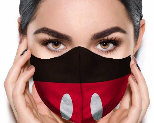 Máscara de Tecido Prime Personalizada Roupa Ratinho Reutilizável - EV