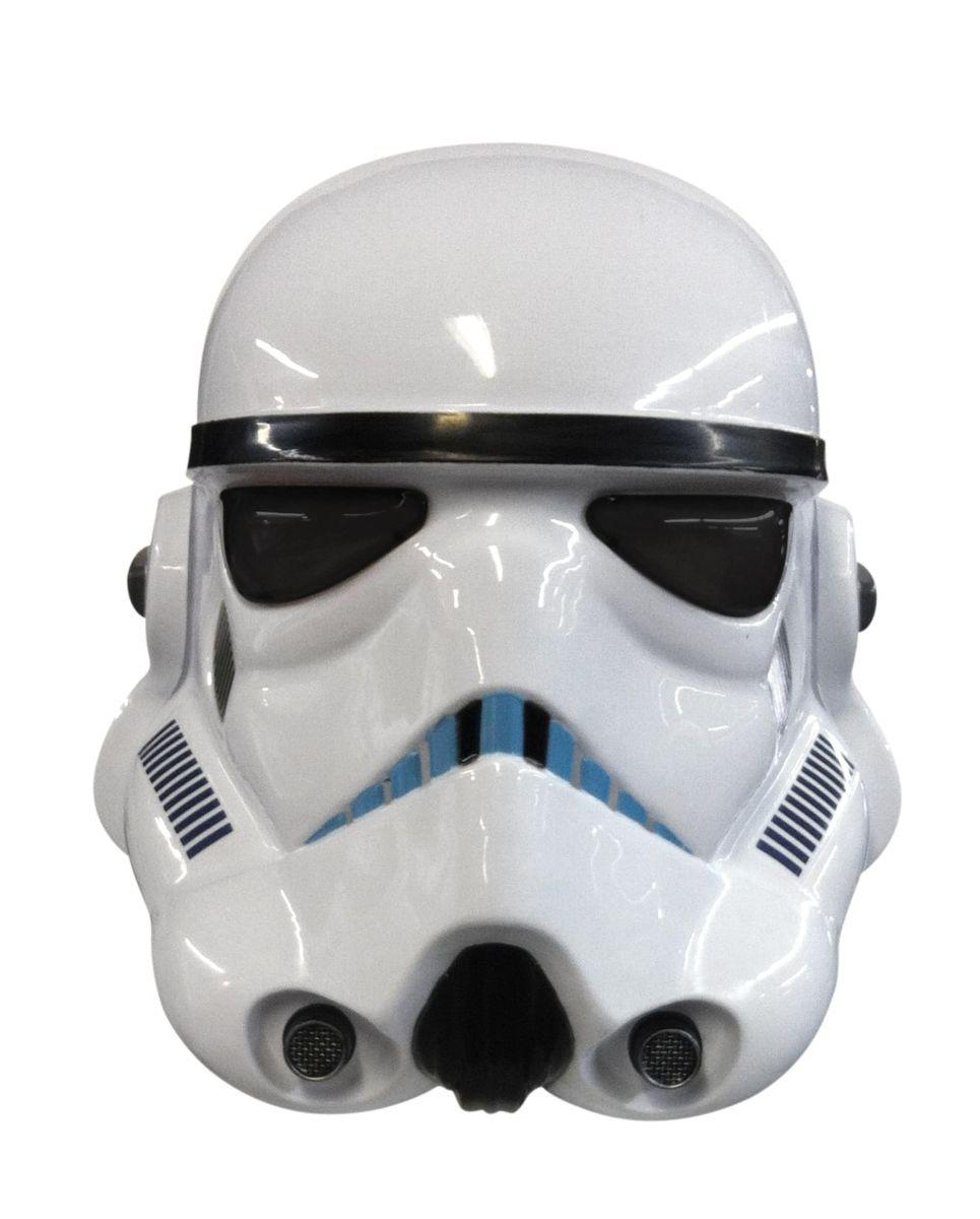 Máscara de Vínil Stormtrooper: Star Wars (Acessório de Fantasia) - Rubies Costume - CD
