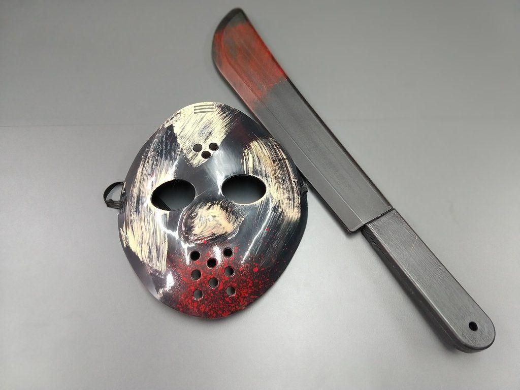 Máscara e Facão Jason