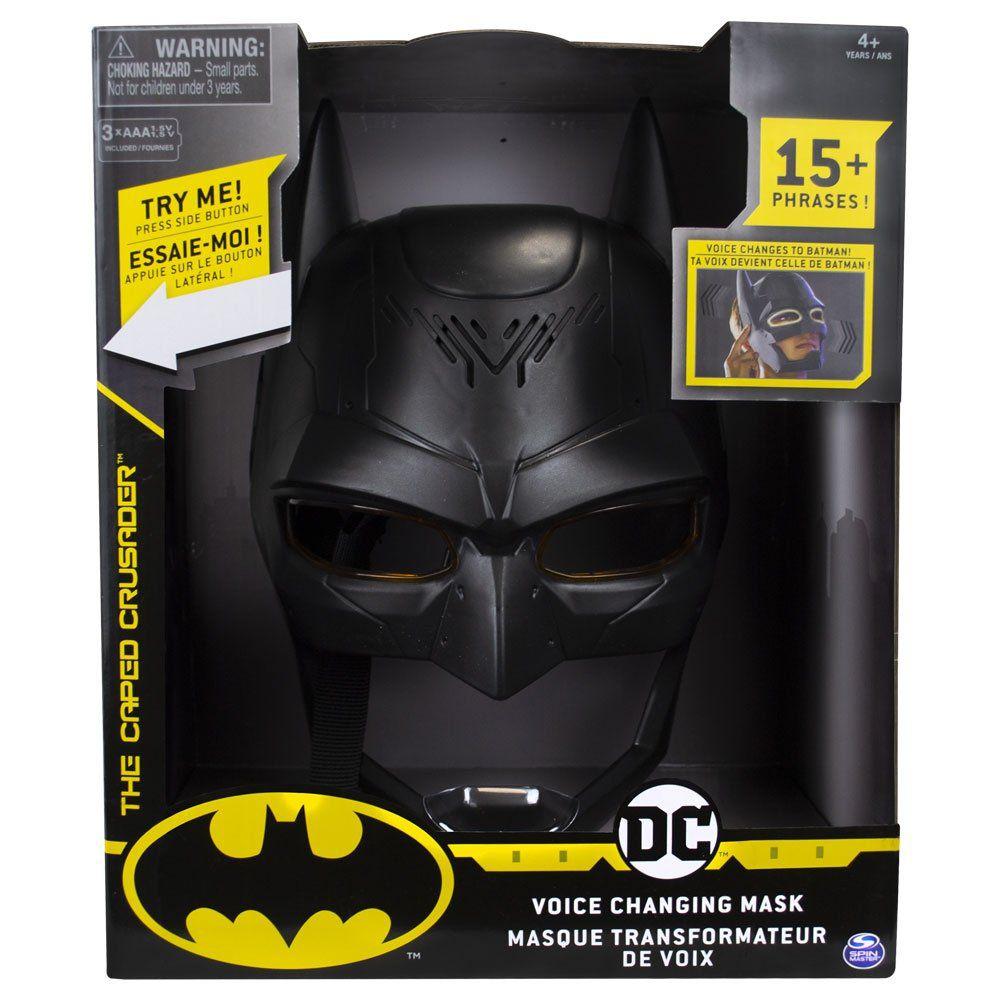 Máscara Eletrônica Troca Voz Batman - DC Comics - Sunny