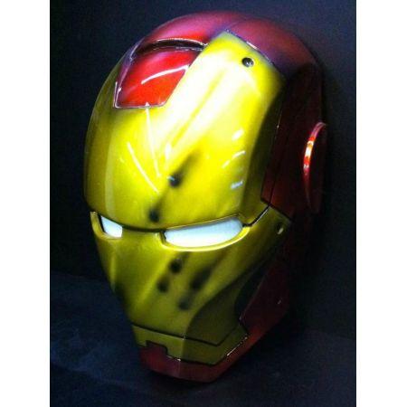 Máscara Homem de Ferro 1:1 Réplica Tamanho Real