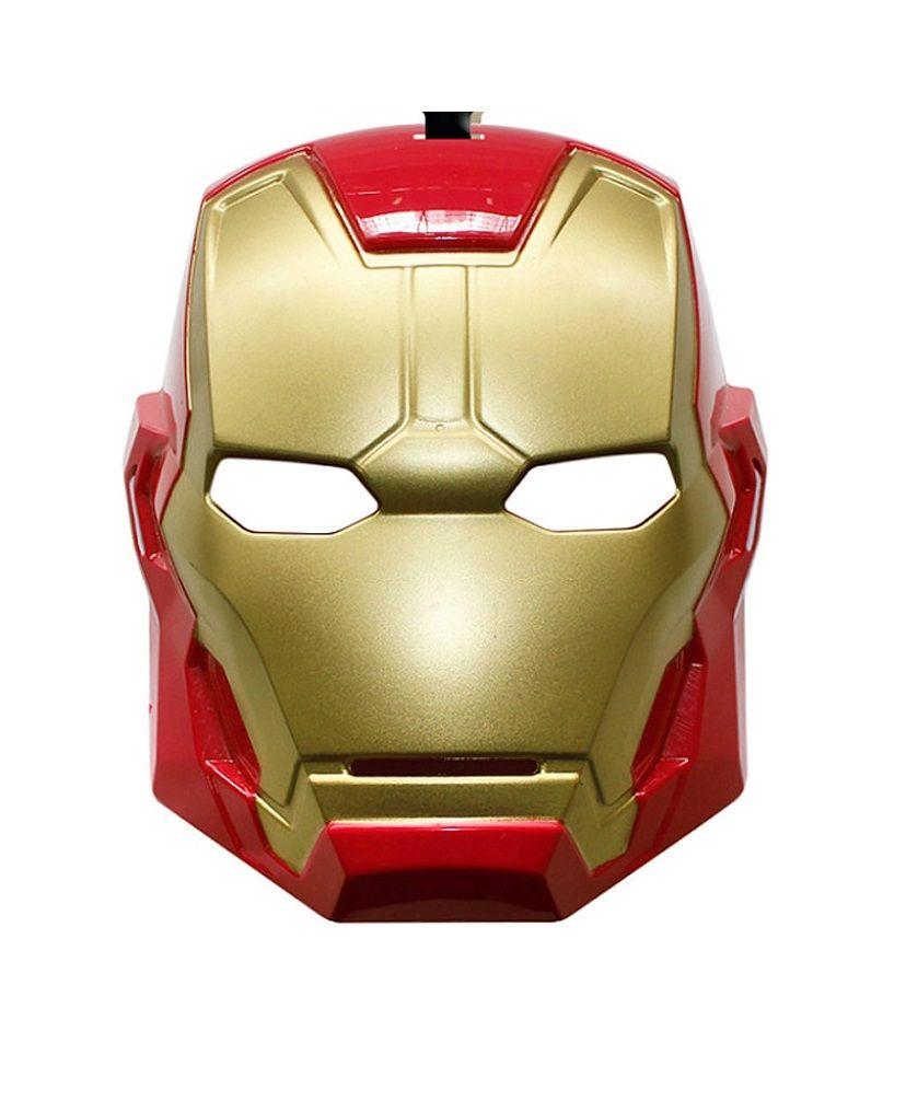 Máscara Homem de Ferro (Iron Man) - Acessórios de Fantasia