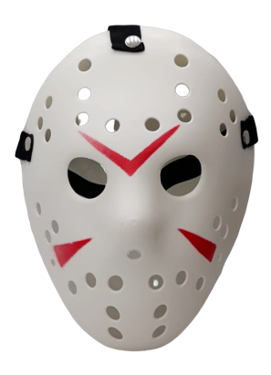 Máscara Jason: Sexta-Feira 13 (Friday the 13th) - Acessório Fantasia