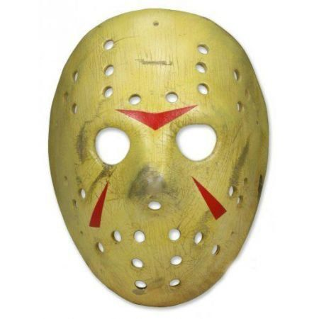 Máscara Jason Sexta Feira 13 parte 3 Réplica 1:1 - Neca