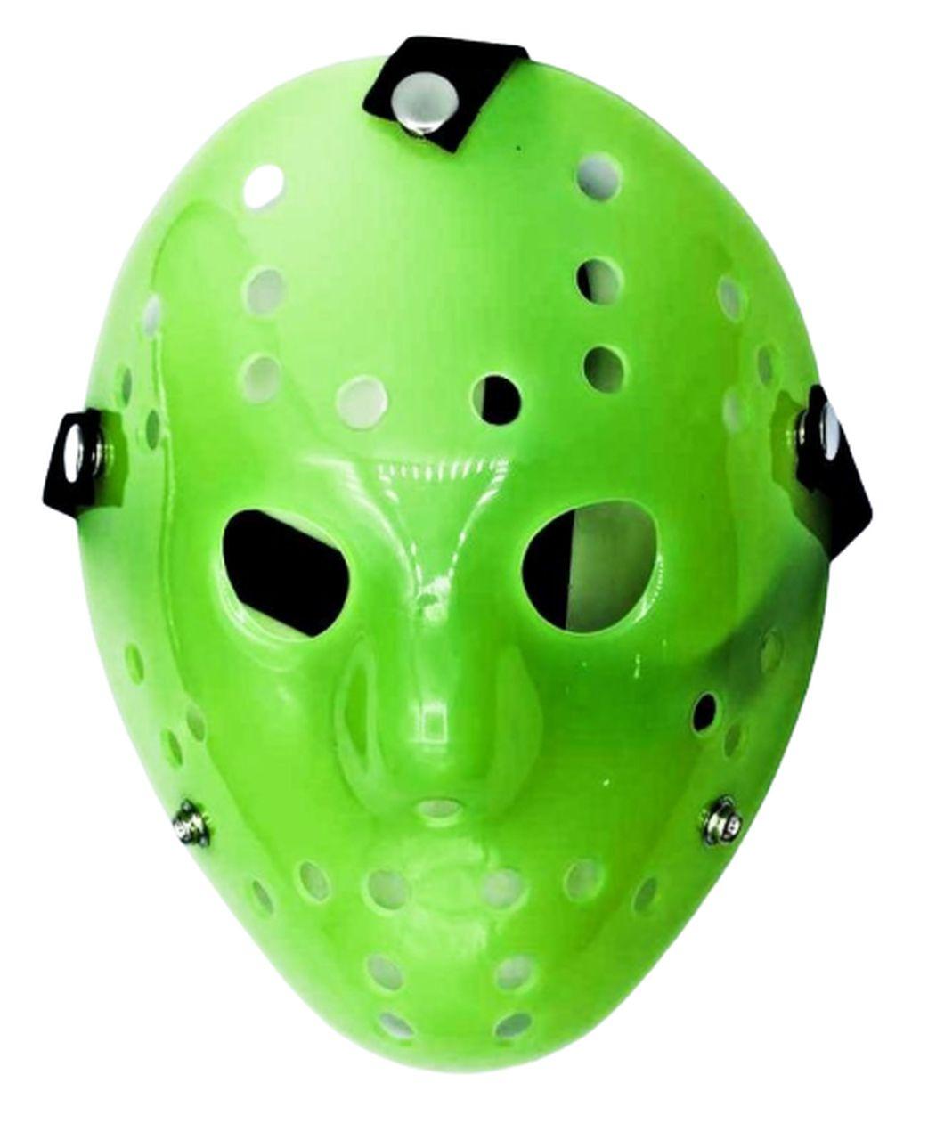Máscara Jason (Verde): Sexta-Feira 13 (Friday The 13th) - (Acessório de Fantasia)