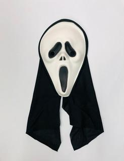 Máscara Pânico Ghostface: Todo Mundo em Pânico Terror Halloween Dia das Bruxas