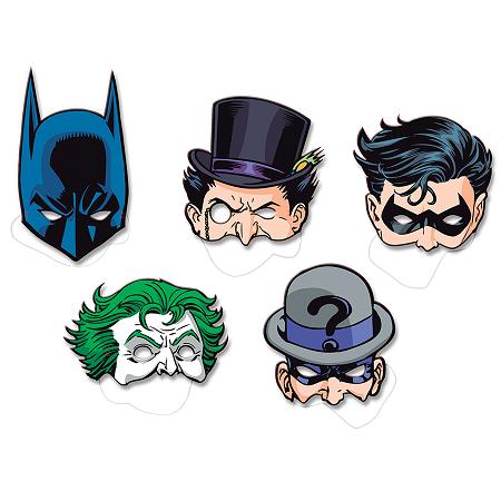 Máscara Papel Batman 2016 - Festcolor