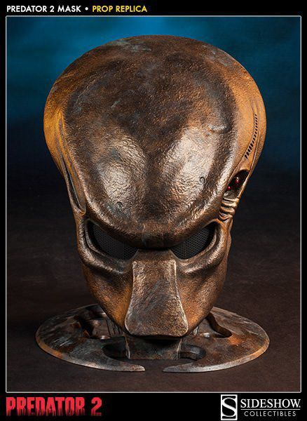 Máscara Predador / Predator 2 Prop Réplica Escala 1/1 - Sideshow - CD