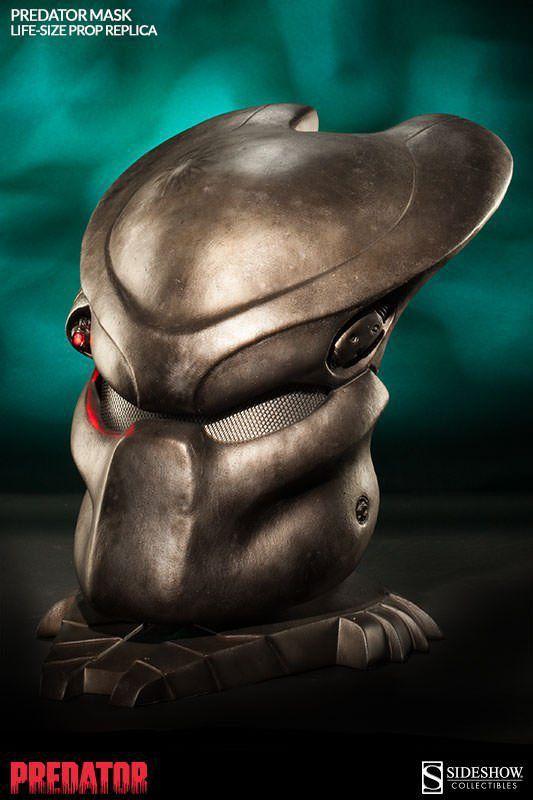 Máscara Predador / Predator Life Size Mask Prop Réplica Escala 1/1 - Sideshow - CD