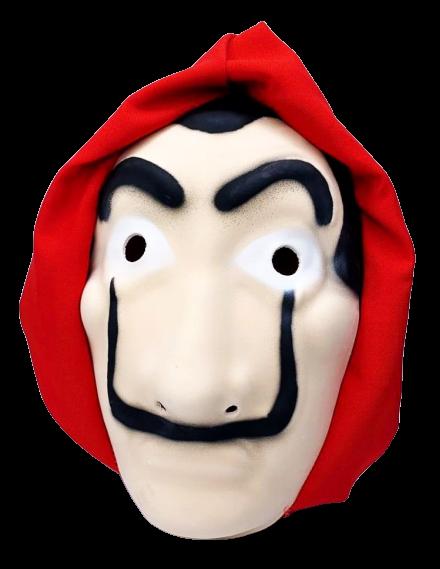 Máscara Salvador Dalí Com Gorro: La Casa de Papel  (Acessório Fantasia)