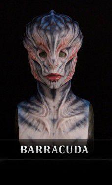 Máscara Silicone: Ambassador Barracuda (Feminino) - Immortals Products (Apenas Venda Online)