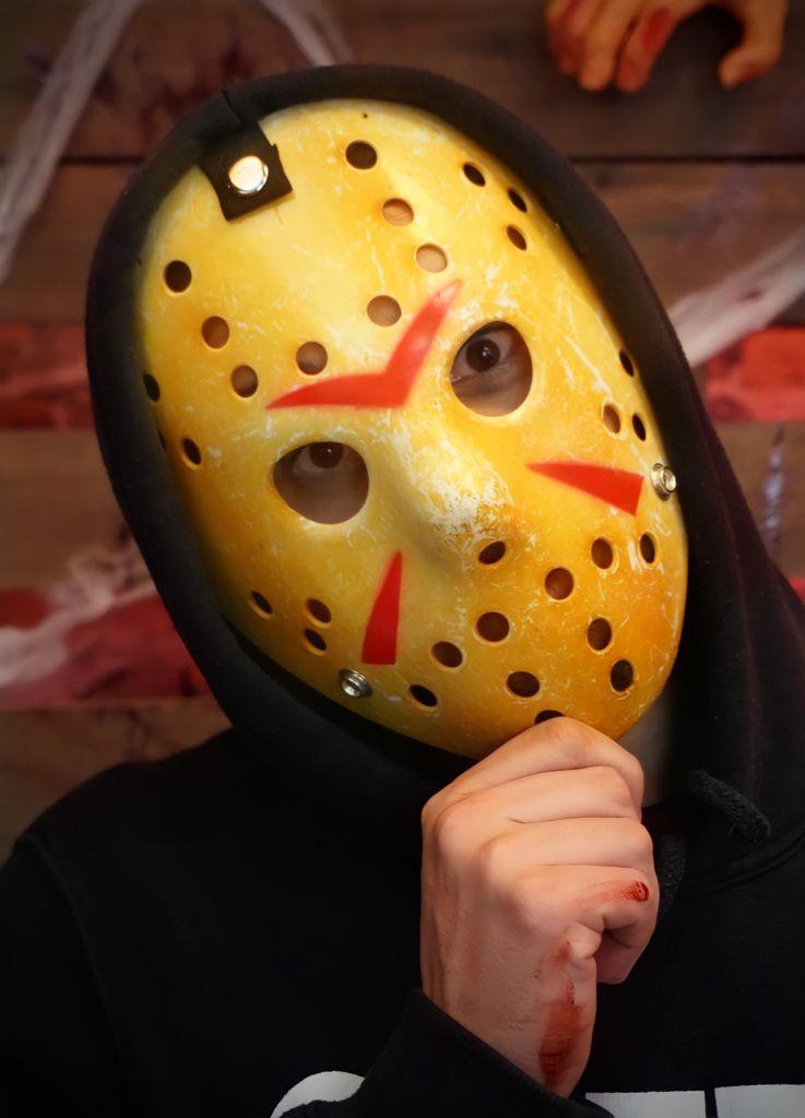 Máscara Terror Geek Jason: Sexta Feira 13 (Friday the 13th) - EV