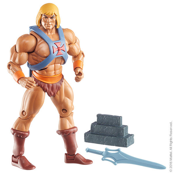 Masters of the Universe Classics 2.0 He-Man Update