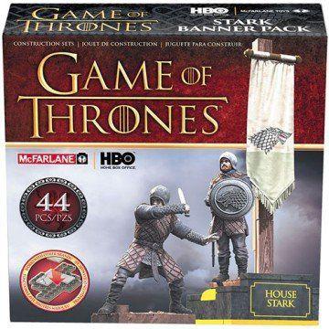 McFarlane Building Sets Game Of Thrones House Stark - McFarlane
