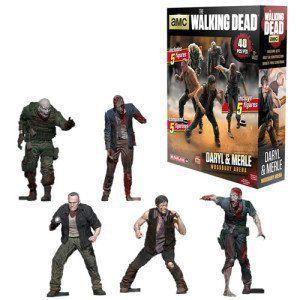 McFarlane Building Sets The Walking Dead Figure Pack Merle & Daryl
