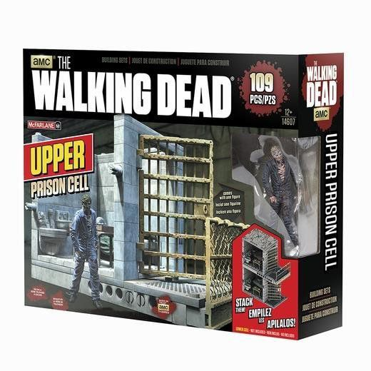 McFarlane Building Sets The Walking Dead Upper Prison Cells