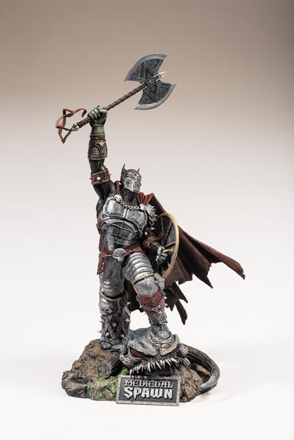 Medieval Spawn Resin Statue - McFarlane