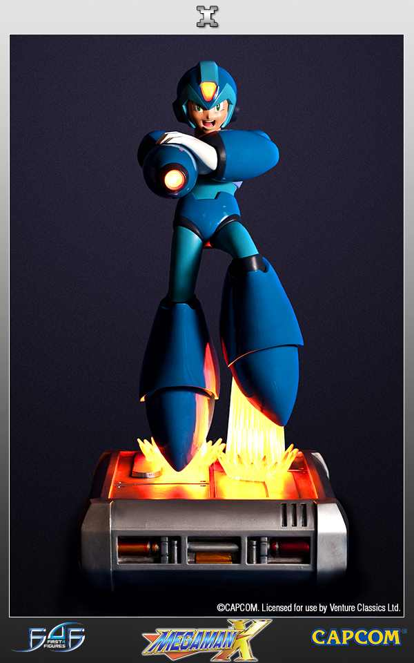 Mega Man X Estátua - First4Figures