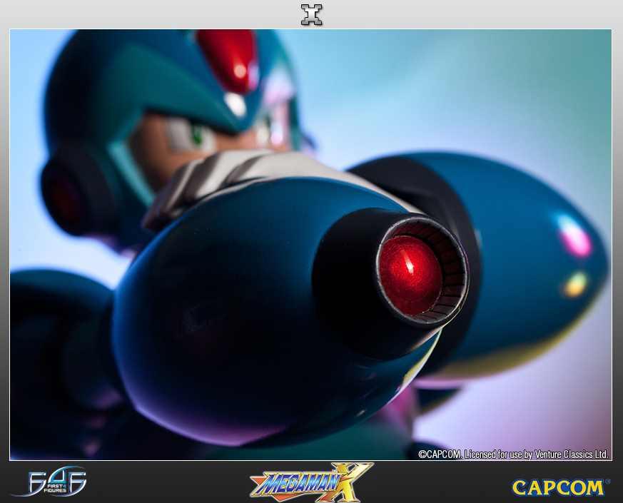 Mega Man X Estátua - First4Figures