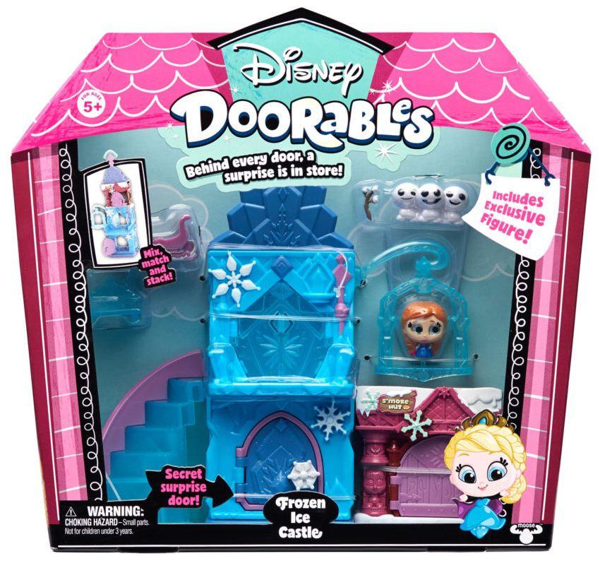 Mega Playset Doorables: Castelo de Gelo Frozen (Disney) - DTC