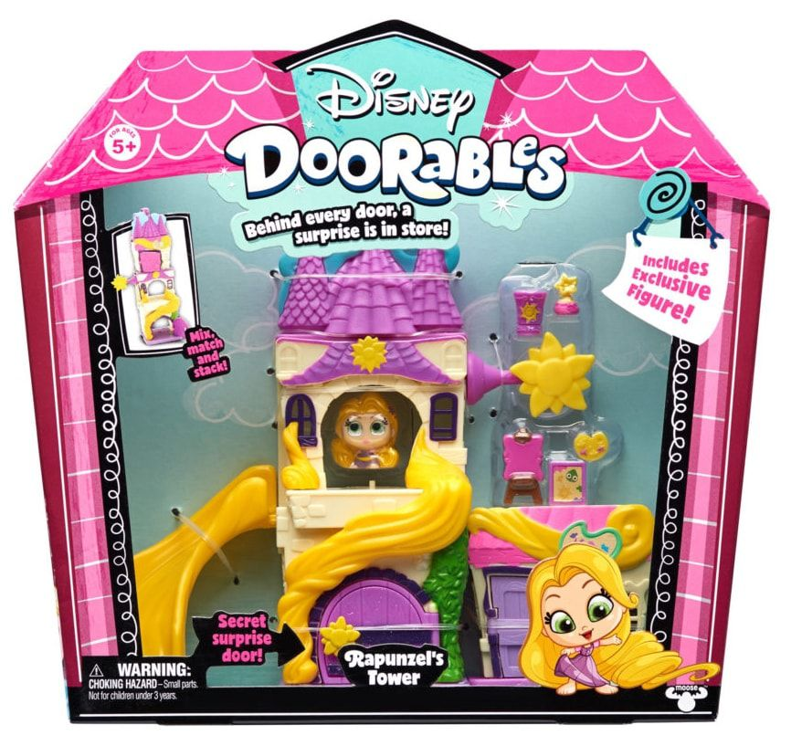 Mega Playset Doorables: Torre da Rapunzel (Disney) - DTC