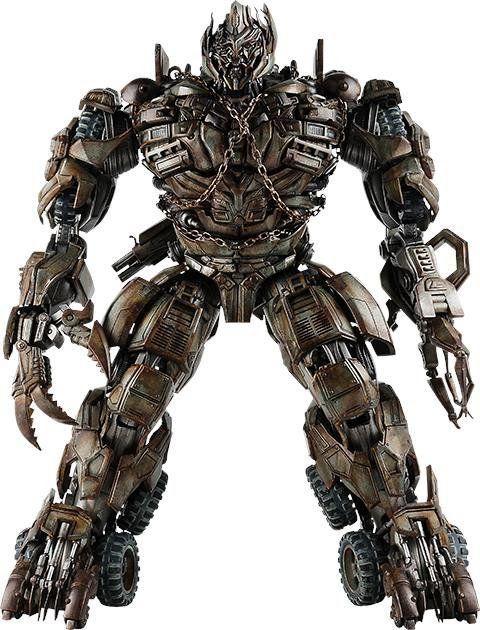 Boneco Megatron: Transformers: A Vingança dos Derrotados Premium - ThreeA - CD
