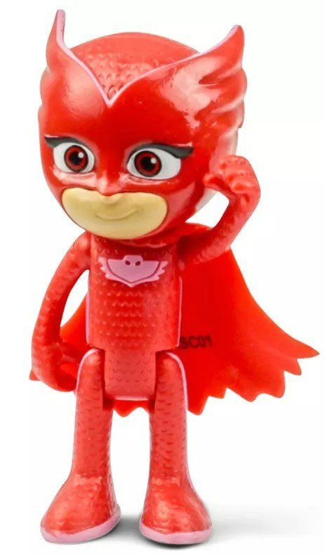 Corujita - Articulado Pj Mask ( Vermelho )