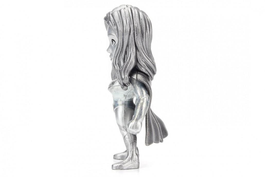Metals Die Cast (Mini): SuperGirl (M394) Prateado - DTC