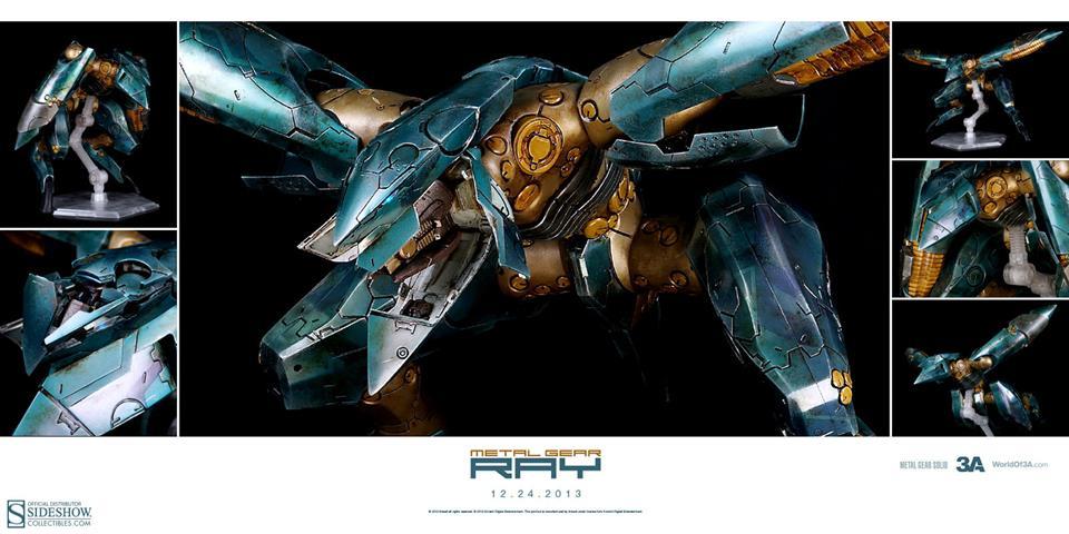 Metal Gear Ray - ThreeA