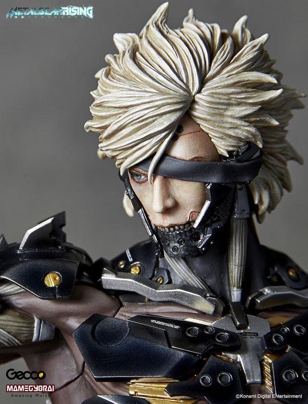 Estátua Raiden: Metal Gear Rising Revengeance Escala 1/6 - Gecco