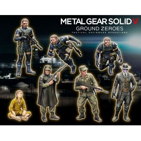 Metal Gear Solid V Ground Zero Plastic Model Kit - Play Arts