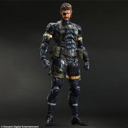 Metal Gear Solid V Ground Zeroes Snake - Play Arts Kai