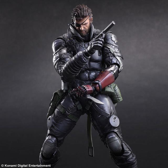 Metal Gear Solid V The Phantom Pain: Venom Snake Sneaking Suit Ver. - Play Arts Kai