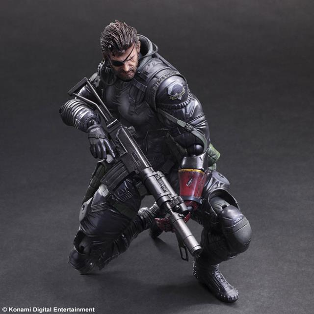 Metal Gear Solid V The Phantom Pain: Venom Snake Sneaking Suit Ver. - Play Arts Kai