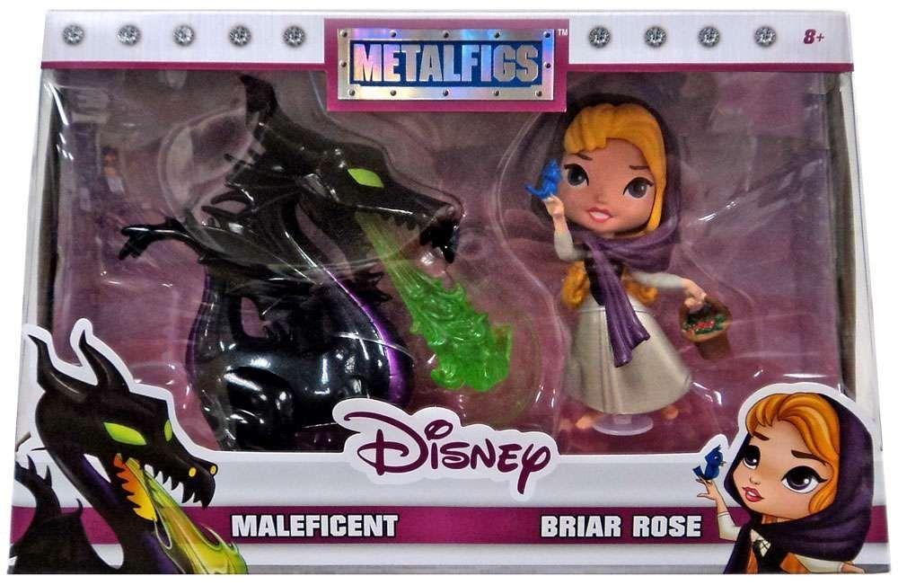 MetalFigs Maleficent & Briar Rose (Exclusive) Figure 2-Pack - Jada