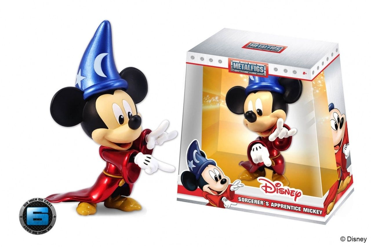 Metalfigs Mickey Mouse Feiticeiro: Disney (D6) - DTC
