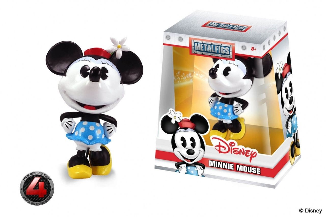 Metalfigs: Minnie Mouse: Disney/Pixar (D5) - Jada Toys