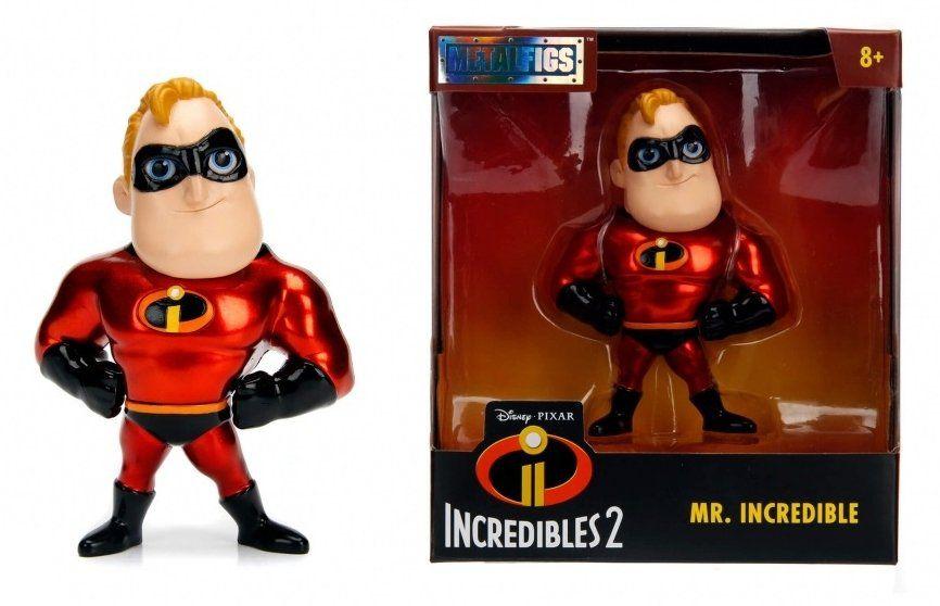 Metalfigs Sr. Incrível (Mr. Incredible): Os Incríveis 2 (The Incredibles 2) DS21 - DTC