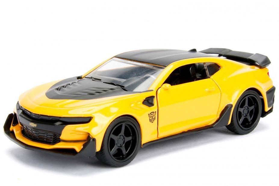 Metals Die Cast Bumblebee: Transformers Escala 1/32 - DTC