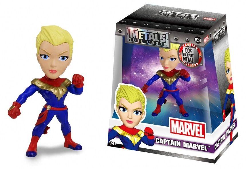 Metals Die Cast Capitã Marvel (Captain Marvel): Marvel Comics (M350) - DTC