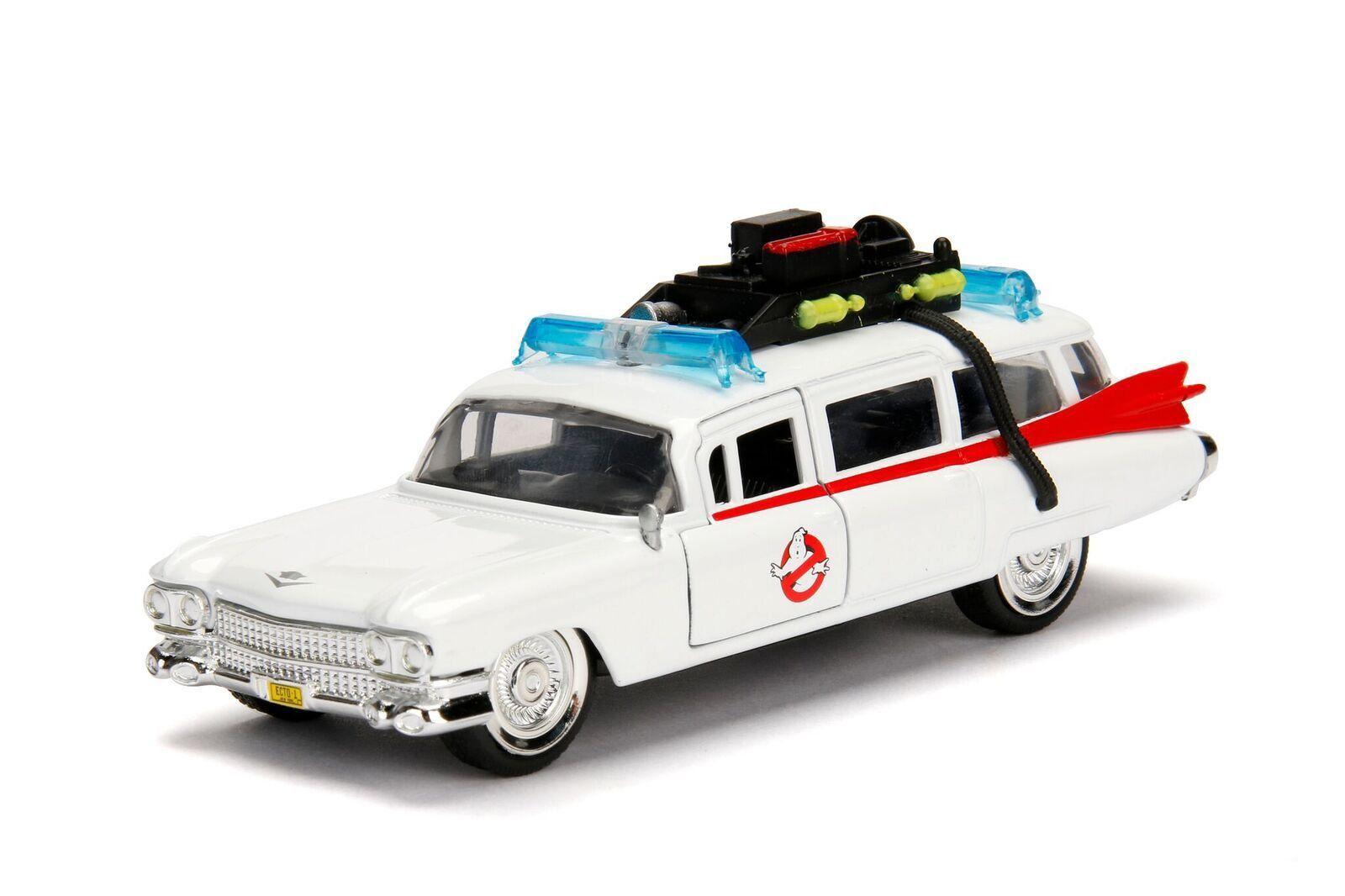 Metals Die Cast Ecto-1: Os Caça-Fantasmas (Ghostbusters) Escala 1/32 - DTC