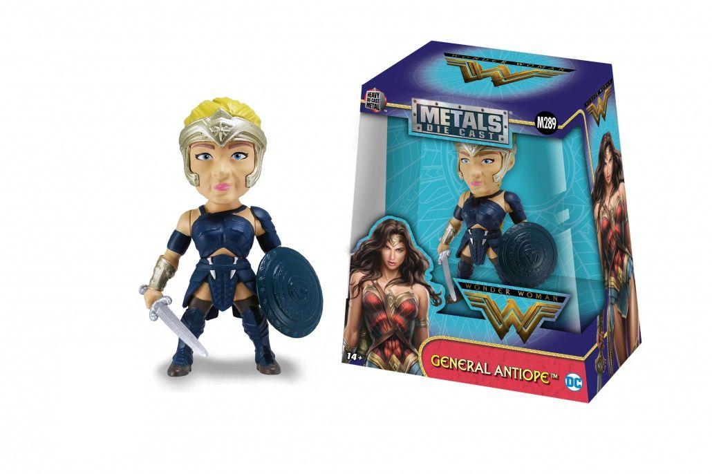 Metals Die Cast General Antiope: Mulher-Maravilha (Wonder Woman) (M289) - DTC
