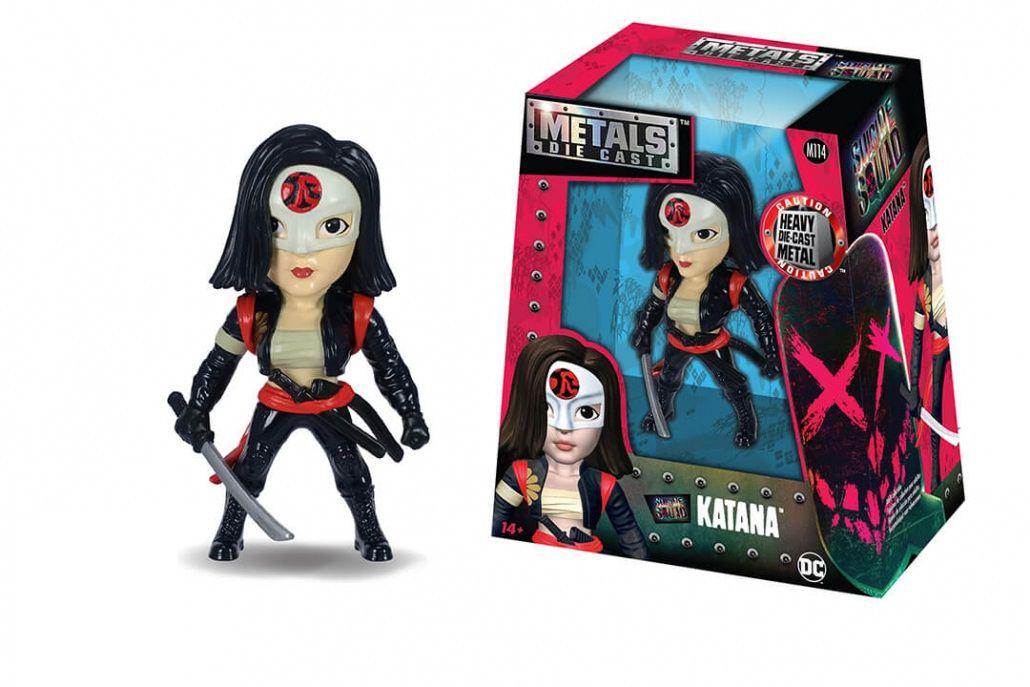 Metals Die Cast Katana: Esquadrão Suicida (Suicide Squad) M114 - DTC