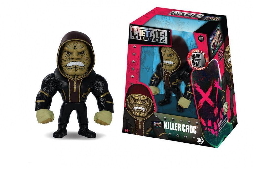 Metals Die Cast Killer Croc: Esquadrão Suicida (Suicide Squad) (M111) - DTC